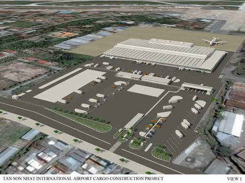 Tan Son Nhat International Arrport Terminal - Air Cargo